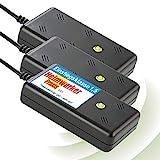 ISOTRONIC Marderschreck Blitz mit Licht / LED Blitzlichtfunktion Ultraschall für Haus,...