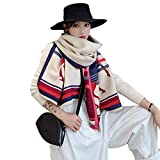 Mhomrs Women Fashion Scarf Pashmina Kerchief Travel Outdoor Shawl with Tassel