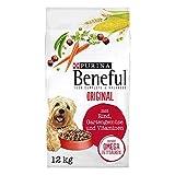 PURINA BENEFUL Original Hundefutter trocken, mit Rind und Gartengemüse, 1er Pack (1 x...