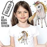 ilka parey wandtattoo-welt Bügelbilder Applikation Pferd Pferdchen Bügelbild Patch...