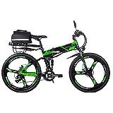 RICH BIT 26-Zoll-E-Bike mit zusammenklappbarem Elektrofahrrad, ausgestattet mit 36 V 250 W...