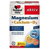 Doppelherz Magnesium + Calcium + D3 – Mit Calcium als Beitrag zum Erhalt normaler...