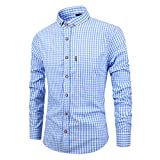 Ashui Herren Hemden Cordhemd Hawaiihemd Karohemd Langarm Hemden Bügelfreie Hemden Flanellhemd Leinenhemd Button Down Hemd Slim Fit Hemden Freizeithemd Stehkragenhemd Business Hemden