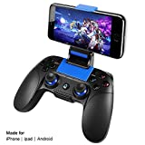 Wireless Gamecontroller,PowerLead Drahtloses Handy Gamepad,Tragbarer Joystick-Griff mobile Spiele Android IOS