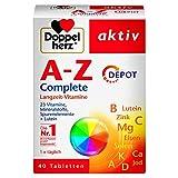 Doppelherz A-Z Complete DEPOT Langzeit-Vitamine – 23 Vitamine, Mineralstoffe &...