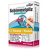 Schimmeltest (Schimmel-Schnelltest) für bis zu 12 Räume – Schimmel Test zur...