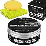 Momo's Garage ® Carnauba Politur + Wax mit SiO2 Versiegelung High End Schutz mit EXTREM...