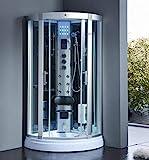 XXL Luxus LED Dampfdusche Dusche Duschtempel Komplettdusche Duschkabine+Radio inkl....