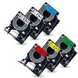 Atoner Etikettenband für D1 Schriftband 45013 S0720530 45010 45016 45017 45018 45019 für...