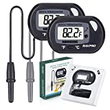 Aquarium Thermometer, RISEPRO Digital Wasser Thermometer für Aquarium Aquarium Marine Temperatur