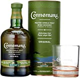 Connemara Peated Single Malt Irish Whiskey mit Glas (1 x 0.7 l)