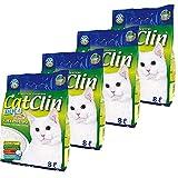 CatClin 4 x 8 l = 32L Silikat Katzenstreu Streu Magic Cat Litter
