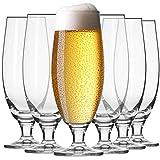 Krosno Pokal Craft Bier-Gläser 0,5 Liter   Set von 6   500 ML   Elite Kollektion  ...