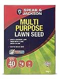 Spear & Jackson Mehrzweck-Rasensamen, kinder- und haustiersicher, geeignet für schattige...