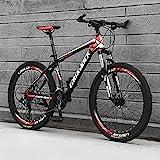 AEF Mountainbike 26 Zoll, Vollfederung Mountain Bike Mit 21-30 Gang Kettenschaltung, MTB...