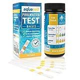 aquaself Poolwasser-Test Basis – Wassertester für Pool auf pH und Chlor und...
