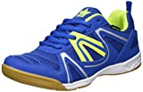 Lico Unisex Fit Indoor Hallenschuhe, BLAU/Lemon, 45 EU