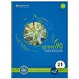 Staufen 40835021 - Staufen Green Collegeblock, DIN A4, Lineatur 21 (9 mm liniert), 80...