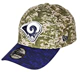 New Era Los Angeles Rams 39thirty Adjustable Cap NFL Digi Camo Camouflage/Blue - XS-S