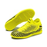 Puma FUTURE 4.4 IT Jr, Unisex-Kinder Fußballschuhe, Gelb (Yellow Alert-Puma Black 03), 35 EU (2.5 UK)