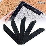 LZZ 24pcs Antirutschmatte für Teppich, Anti Rutsch Teppich, rutschfest Teppichgreifer,...