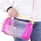 NXL Hamster Tragetasche Käfig Haustier Reise Outdoor Carrier Portable Go Out Box Komfortabler...