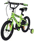 Actionbikes Kinderfahrrad Zombie - 16 Zoll - V-Break Bremse vorne - Stützräder -...