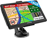 Navigation für Auto LKW Navi 7 Zoll Navigationsgerät Testsieger 2021 Navigationssystem...