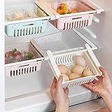 HapiLeap kühlschrank Schubladen, Einstellbare Lagerregal Kühlschrank Partition Layer...