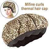 Wiederverwendbare Haar Hitze Kappe Thermal Haar Hitze Kappe Haar Conditioning Hat Spa Cap Styling Tools