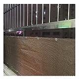 sunnypillow Sonnensegel inkl. Befestigungsseilen 100% Windschutz | UV Schutz |...