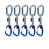 Mammut Karabiner-Set 5er Pack Crag Indicator Wire Express Sets