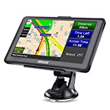 AWESAFE GPS Navi Navigation für Auto LKW PKW KFZ Navigationsgerät 7 Zoll Lebenslang...