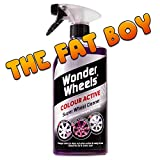 "Wonder Wheels ""The Fat Boy"" Farbaktives Super Felgenreiniger, 1 l, mit Farbwechseltechnologie"