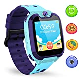 Kinder SmartWatch Digital Watch with Games, SOS and 1.44 inch Touch LCD for Boys Girls Birthday