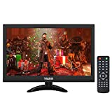 Thinlerain 13.3 Zoll HDMI Monitor 1366 x 768 HD LED Bildschirm Mini Monitor CCTV Monitor...