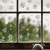 BLOUR Frohe Weihnachten Wandaufkleber Einkaufszentrum Schneeglas Fenster Aufkleber Vinyl...