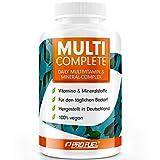 Vegane Vitamine & Mineralstoffe - MULTI COMPLETE Multivitamin & Mineral-Komplex vegan -...