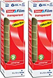 tesafilm 57370 Klebefilmrollen transparent in praktischer 10 Rollen Office Box, 10m x 15mm (2er Pack = 20 Rollen)
