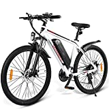 26 Zoll E-Bike MTB Herren Damen,Ebike Mit 350 Watt Motor 36V10Ah Lithium-Akku,Mountainbike...