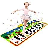 Piano Matte Klaviermattem Tanzmatten Musikmatte Kinderspielzeug ab 2 jahre mit 8...