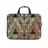 Laptoptasche mit Schmetterlings-Design, bunt, wasserabweisend, Notebook-Tragetasche mit...