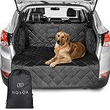 NOSOA Premium-Kofferraumschutz für Hunde, Hundedecke Auto Kofferraum mit Stoßstange...