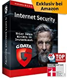 G DATA Internet Security 2020 | 1 Gerät - 1 Jahr, DVD-ROM inkl. Webcam-Cover | Antivirus für PC, Mac, Android, iOS | Made in Germany