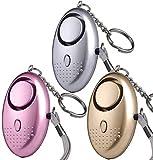 Persönlicher Alarm Taschenalarm 3 Stücke 140 dB Safesound Personal Alarm mit...