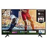 Hisense 43AE7000F 108cm (43 Zoll) Fernseher (4K Ultra HD, HDR, Triple Tuner DVB-C/ S/ S2/...