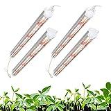 Garpsen T8 Pflanzenlampe(4x24W, 300W HPS Equivalent), 2FT 384 LEDs Vollspektrum LED Grow...