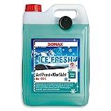 SONAX 01335410 Antifrost&KlarSicht bis-20°C IceFresh 5 l, 5 Liter