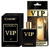 Auto Duft VIP-007- 50 ml , Lufterfrischer Auto, Luftreiniger Wohnung, Duftbaum auto,...