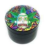 Royale Grinder Pro design Grinder 5cm 4 Parties by édition limitée rick und morty